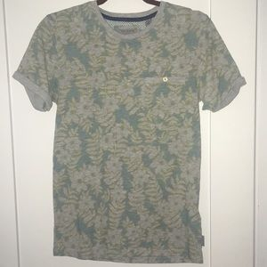 Ted Baker London Grey Floral T-shirt